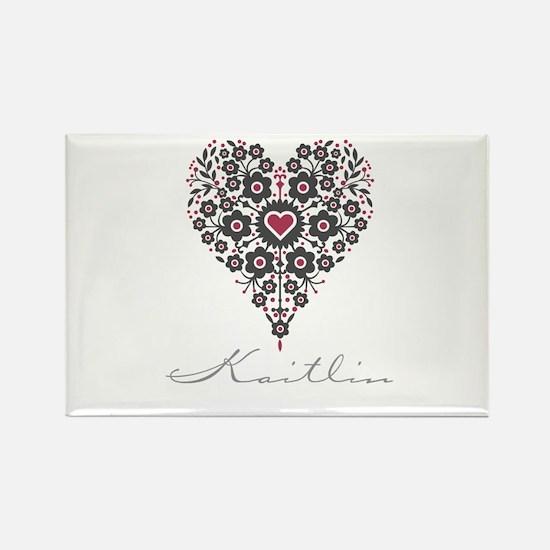 Love Kaitlin Rectangle Magnet