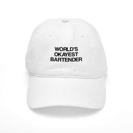 World's Okayest Bartender Cap