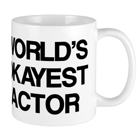 World's Okayest Actor Mug