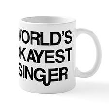 World's Okayest Singer Mug