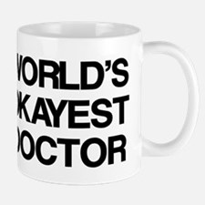 World's Okayest Doctor Small Mugs
