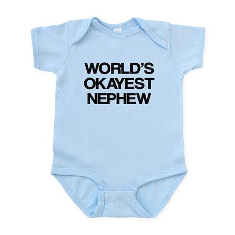 World Okayest Nephew Infant Bodysuit