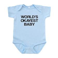 World Okayest Baby Infant Bodysuit