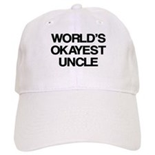 World's Okayest Uncle Baseball Cap