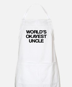 World's Okayest Uncle Apron