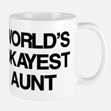World's Okayest Aunt Mug