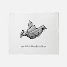 Paper Dove Throw Blanket