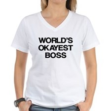 World's Okayest Boss Shirt