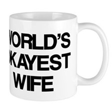 World's Okayest Wife Mug