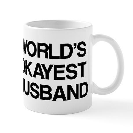 World Okayest Husband Mug