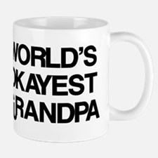 World's Okayest Grandpa Mug