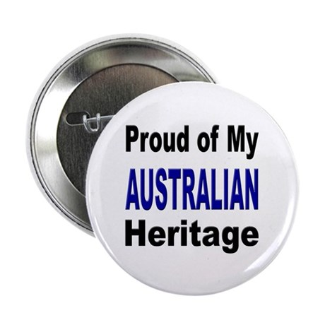 "Proud Australian Heritage 2.25"" Button (10 pack)"