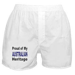Proud Australian Heritage Boxer Shorts