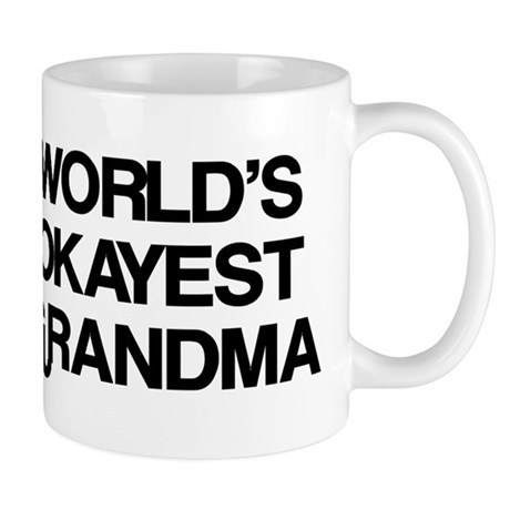 World's Okayest Grandma Mug