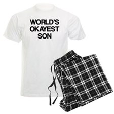 World's Okayest Son Pajamas