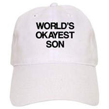 World's Okayest Son Baseball Cap