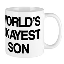 World's Okayest Son Mug