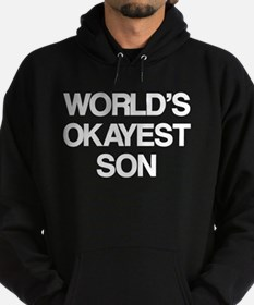 World's Okayest Son Hoody