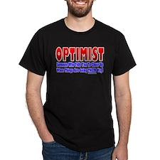 Optimist Says Cheer Up T-Shirt