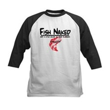 FISH NAKED LAKE LANIER Baseball Jersey