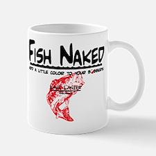 FISH NAKED LAKE LANIER Mug