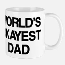 World's Okayest Dad Small Mugs