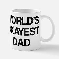 World's Okayest Dad Small Small Mug