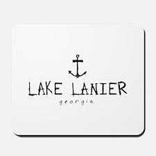 LAKE LANIER GEORGIA ANCHOR Mousepad