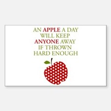 Apple a Day Decal