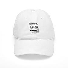 Dante Virtue Quote Baseball Cap