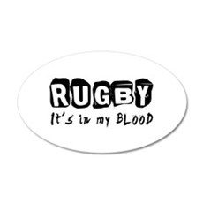 Rugby Designs Wall Decal