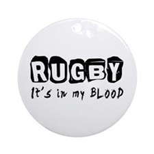 Rugby Designs Ornament (Round)