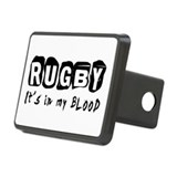 I love rugby Hitch Covers