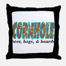 Cornhole Throw Pillow