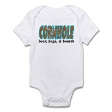 Cornhole Infant Bodysuit