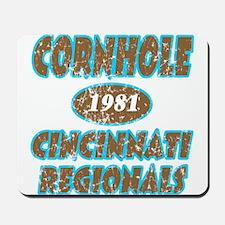 Cornhole Regionals Mousepad