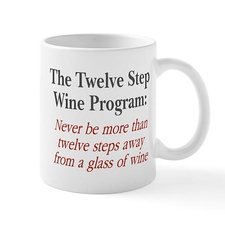 Twelve Step Wine Program Mug