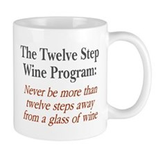 Twelve Step Wine Program Mug