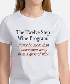 Twelve Step Wine Program Women's T-Shirt