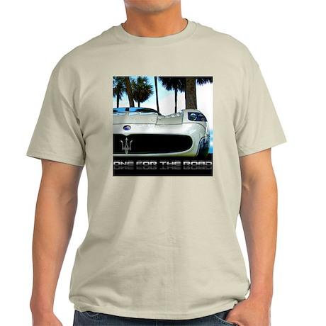 Maserati Closeup Ash Grey T-Shirt