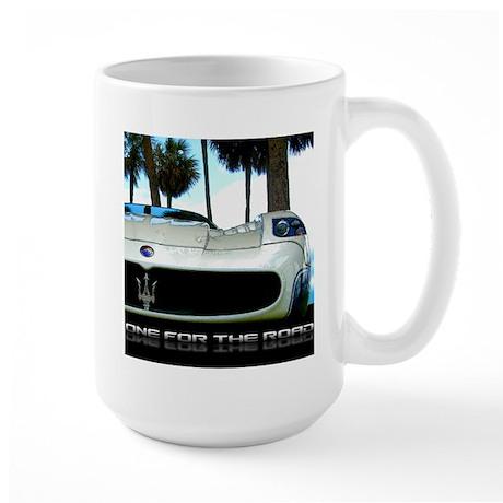 Maserati Closeup Large Mug