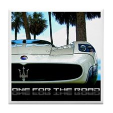 Maserati Closeup Tile Coaster