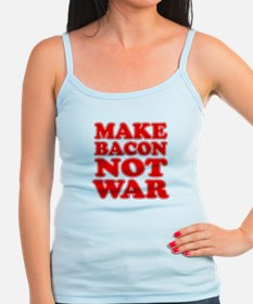 Make Bacon Not War Tank Top