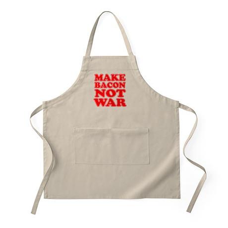 Make Bacon Not War Apron