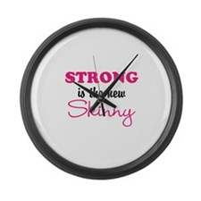 STRONG is the new Skinny Large Wall Clock