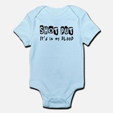 Shot Put Designs Onesie