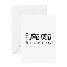 Shot Put Designs Greeting Card
