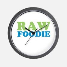 Raw Foodie Wall Clock
