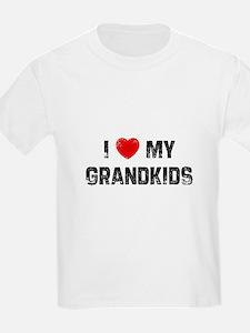 I * My Grandkids Kids T-Shirt