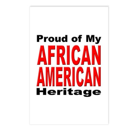 Proud African American Heritage Postcards (Package